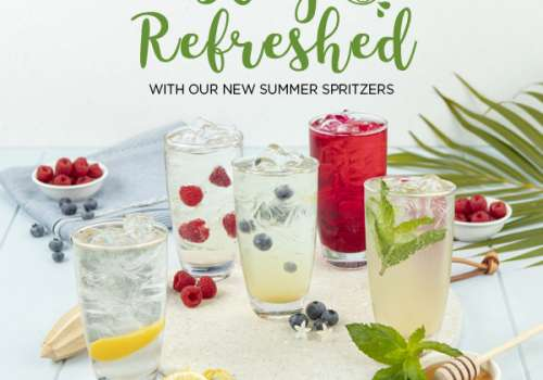 Stay Refreshed with a Michel's Summer Spritzer